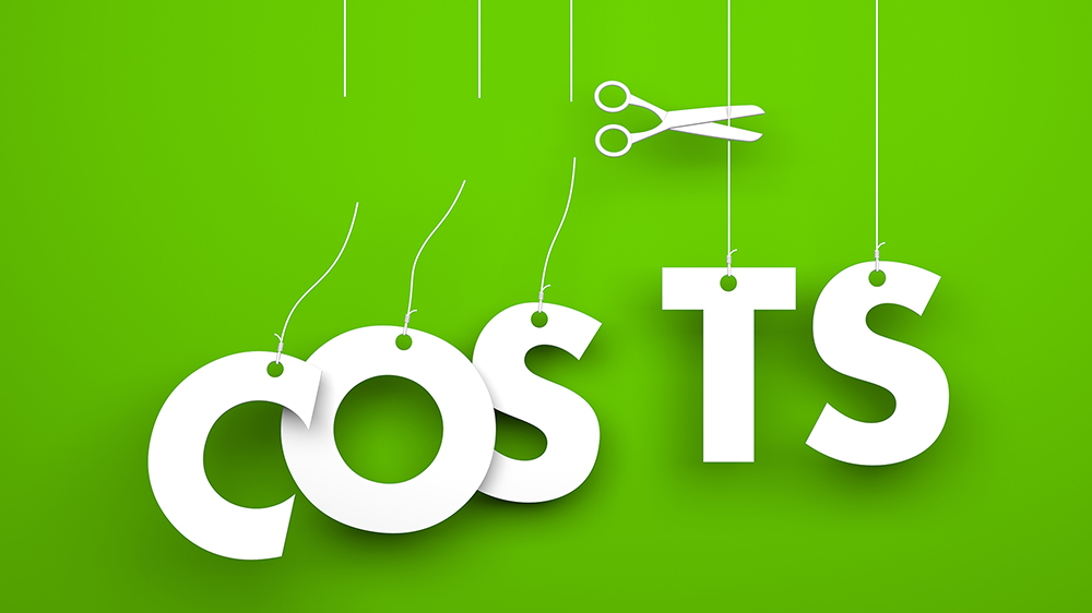 デジタルサイネージでコストを削減